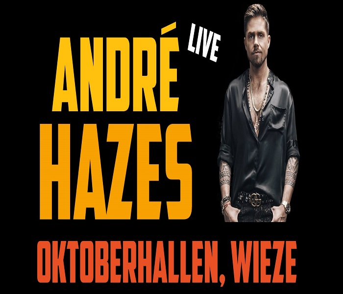 André Hazes Live in concert zaterdag (hal A)